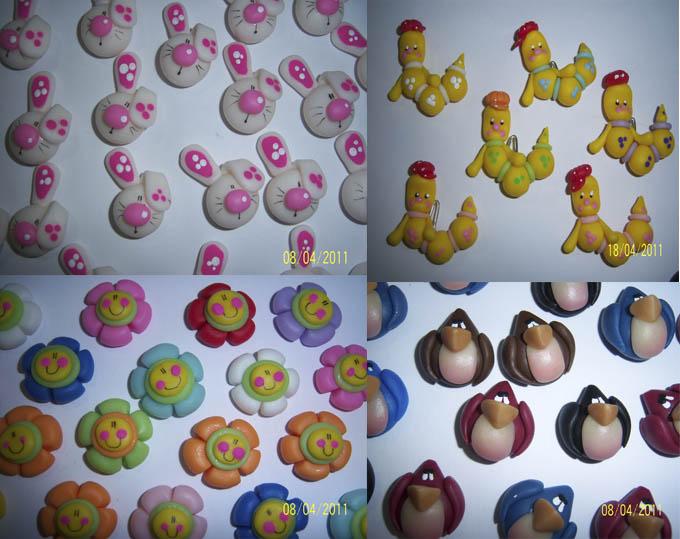 Caras de animales en porcelana fria - Imagui